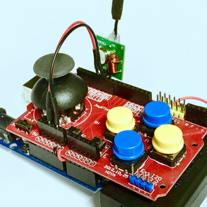 Joystick Shield transmitter 315MHz
